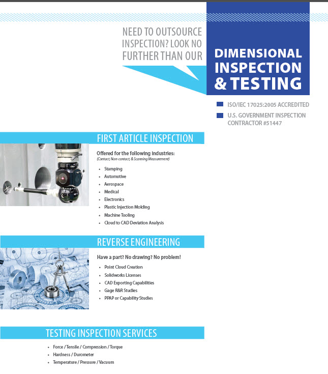 ISO 17025 Accredited Testing Lab